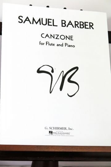 Barber S - Canzone for Flute & Piano